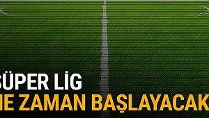 Süper Lig ne zaman başlıyor? İşte ilk hafta fikstürü ve derbi tarihleri..