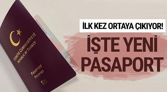 İlk kez ortaya çıkıyor! İşte yeni Türk pasaportları