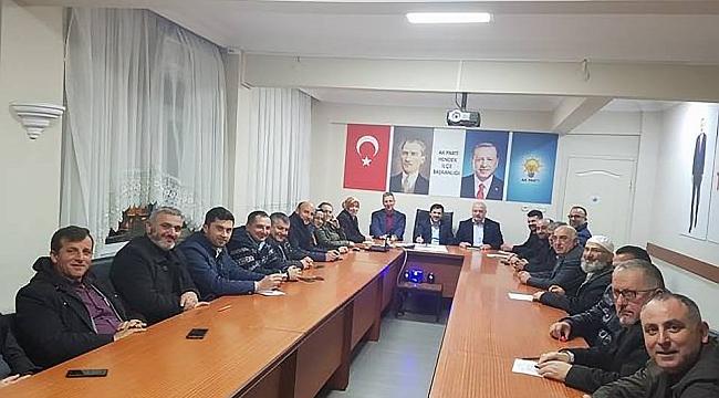 BAŞKAN DEMİREL, AK PARTİYE MİSAFİR OLDU!...