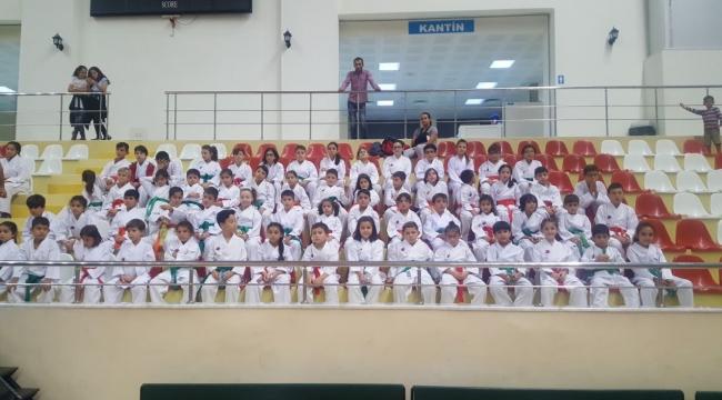 Hendek Karate Takımı Kuşakları Yükseltti!...