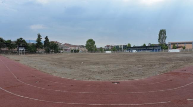 Hendek Atatürk Stadı BAL' a hazırlanıyor!...