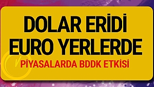 Dolar eridi, Euro yerlerde rüzgar tersine döndü dolar bugün ne kadar