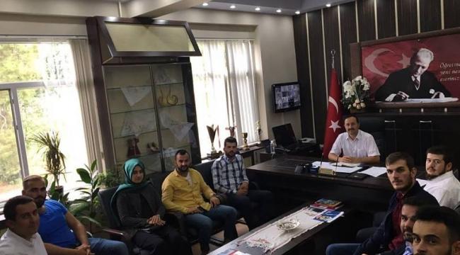 Ak Gençlik Mustafa Çuhadarı ziyaret etti!...