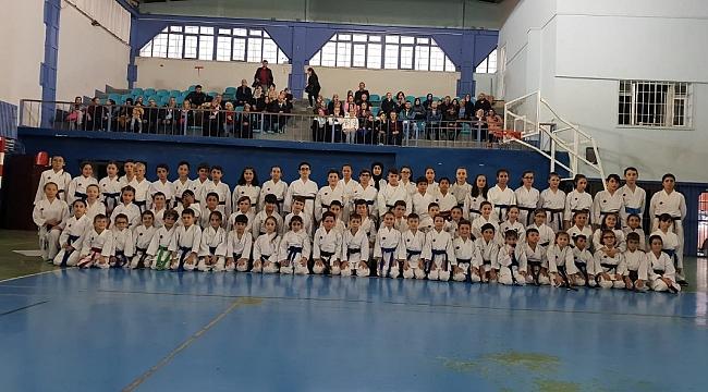 Karateciler Kuşak Sınavını geçti...