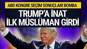ABD seçim sonuçları Trump'a inat ilk müslüman seçildi