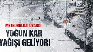 Meteoroloji'den yoğun kar ve yağmur uyarısı