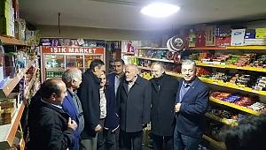 Eski belediye başkan adaylarından Mercan'a büyük destek...