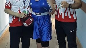 Boksör Ece Asude Ediz Avrupa Şampiyonu oldu!...