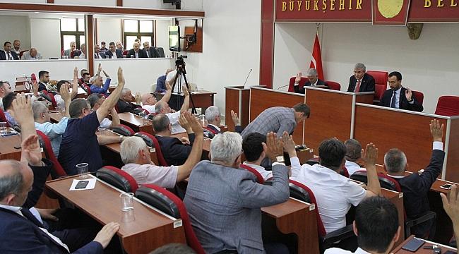 Büyükşehir Meclisinde 62 Gündem Maddesi görüşüldü...