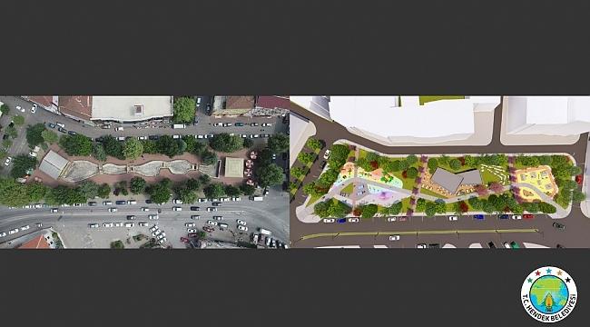 Zeki Cömert Parkı Yenileniyor...