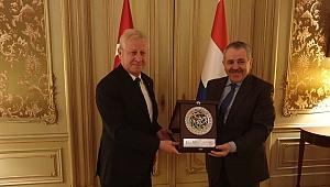 Başkan Adem Sarı, Şaban Dişli'yi Ziyaret Etti!