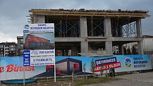 Hendek İtfaiye Hizmet Binası İnşaatı Hızla Devam Ediyor!