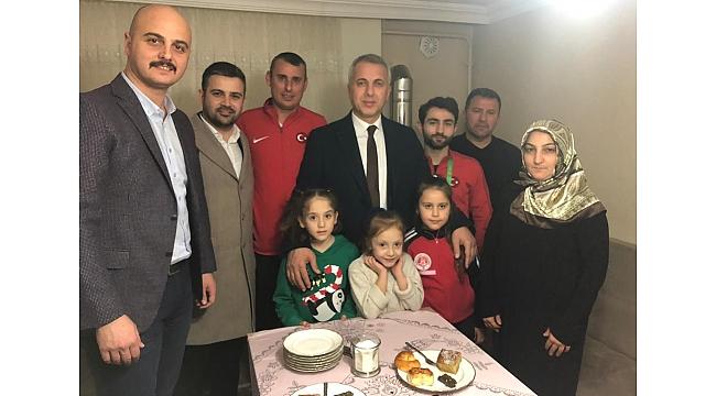 Başkan Babaoğlu, Şampiyonu evinde Ziyaret Etti!