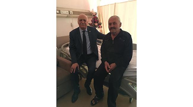 Başkan Hayri Duran'a Ziyaretçi Akını...