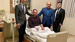 Gelecek Partisi İl Başkanı Ender Serbes, Fatih Sunman'ı Ziyaret Etti!