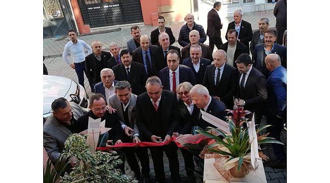 Muhtarlar Derneği Yeni Binası Dualarla Açıldı...
