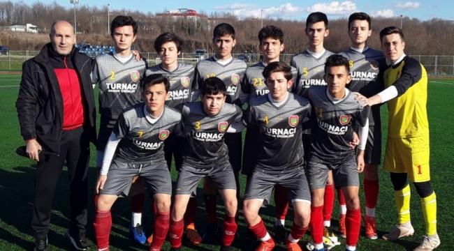 U 17 Liginde Boğazspor Fırtınası...