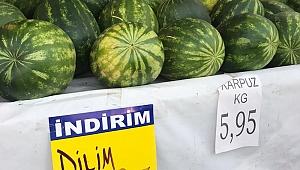 Korona Yüzünden Karpuzda Dilimli Satış!