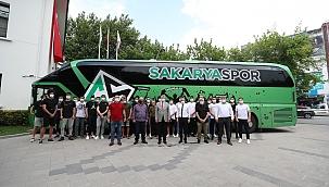 Başkan Yüce'den play-off öncesi Sakaryaspor'a destek...