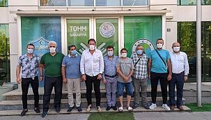 TGF Genel Sekreteri Tahir Yılmaz'dan Hendek ziyareti...