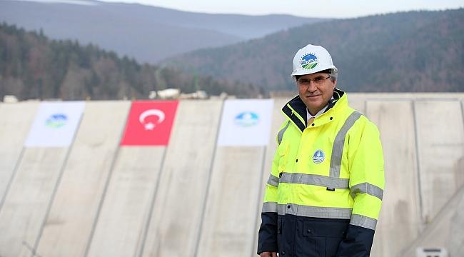 Başkan Yüce: Güneşten enerji üretecek proje, yıllık 5 milyon TL enerji üretecek...