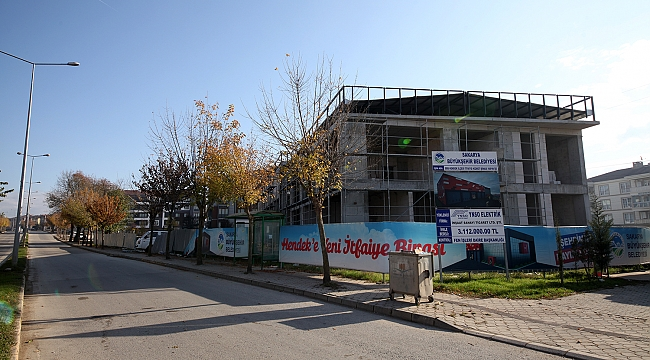 Başkan Yüce : Hendek yeni itfaiye binası, en kısa sürede bitecek...