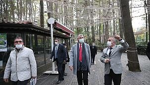 Başkan Yüce, Orman Park'ın dokusu bozulmayacak...