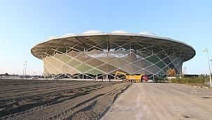 Spor Şehri Sakarya'da Yatırımlar Devam Ediyor...