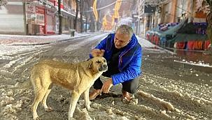 Başkan Babaoğlu'ndan kar yağışına yakın takip...