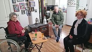 Başkan Sarı ve Dirim, Zerrin Gençol Sadıç'ın çalışmalarından çok etkilendik...