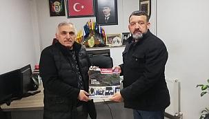 Ali İnci, Hendek Gerçek Haber'i ziyaret etti...