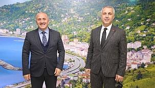 Başkan Babaoğlu, Başkan Çiftçiyi ziyaret etti...