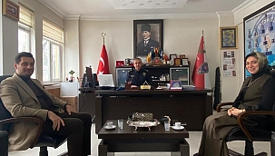 İlçe Emniyet Müdürü Şevket İlhan'a Ak Ziyaret!