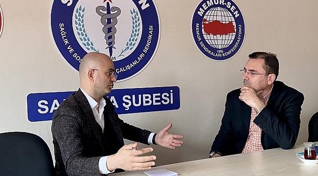 Ender Serbes: Sağlık çalışanlarımız eşitlik ve adalet istiyor...