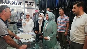 Milletvekili Atabek'ten esnaf ziyareti