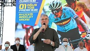 Başkan Yüce: Dünya Sakarya'yı bisiklet dostu olarak tanıyacak...