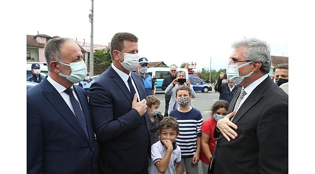 """Başkan Yüce; """"Pazarköy Caddesi şehrimize ve ilçemize hayırlı uğurlu olsun"""""""