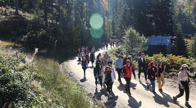 Hendek Gençliği Doğa Yürüyüşünde...