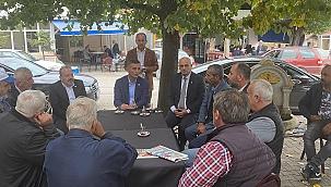 Milletvekili Dikbayır Çamlıca'da...