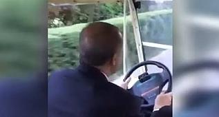 Reis yollarda! Erdoğan memleketinde direksiyona geçip...